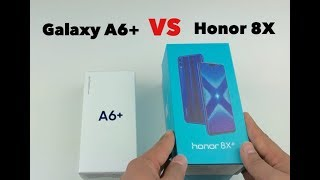 Huawei Honor 8X VS Galaxy A6+ Speed Test...