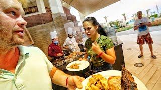 ЕГИПЕТ ЕДА ШОК В СТОЛОВОЙ УЖИН в отеле Shores Amphoras Resort 5 ШВЕДСКИЙ СТОЛ ОТДЫХ В ЕГИПТЕ