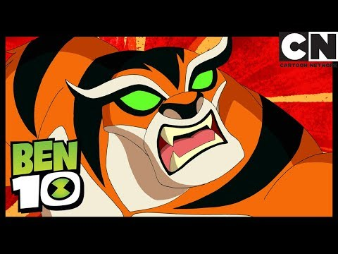Ben 10 | Rath Attacks and Ben Can't Control Him | Rath of Con | Cartoon Network