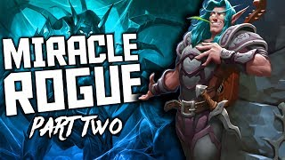 Miracle Rogue - Part 2   The Witchwood   Hearthstone