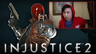 Injustice 2 - Red Hood Reveal Trailer! [REACTION]