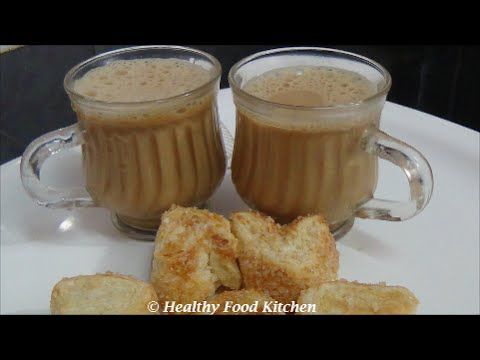 how to make tulsi tea in tamil