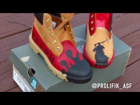"""@Prolifik_ASF – Custom """"Ralph Lauren"""" Timberland Boots"""