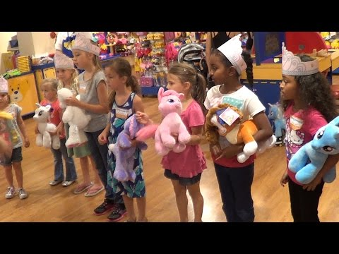 Andi and Kenny  - This Mom Made Birthday Guests Give Their Build-A-Bears To Her Daughter!