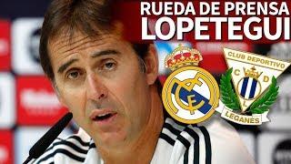 Real Madrid - Leganés | Rueda de prensa previa de Lopetegui | Diario AS
