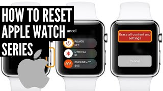 How to factory reset apple watch manually (No Pin Req)
