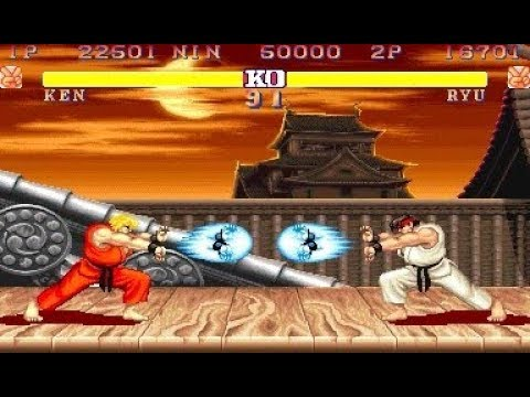street fighter 2 world warrior ryu stage