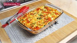 Zapiekany makaron z pomidorami i ricottą. Plus prosty sos. I danie do mrożenia :: Skutecznie.Tv