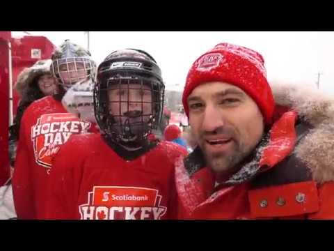 Outdoor Hockey in Newfoundland + Tips from NHL Legends