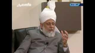 Gulshan-e-Waqfe Nau Nasirat, 16 Oct 2010, Educational class with Hadhrat Mirza Masroor Ahmad(aba)