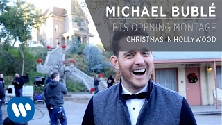 Michael Bublé - Christmas In Hollywood BTS Opening Montage