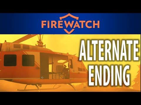 Firewatch Secret Ending! (Alternate Firewatch Ending)