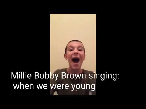 Thumbnail: STRANGER THINGS CAST SINGING! (THEY'RE SO GOOD!)| Millie Bobby Brown, Finn Wolfhard,...