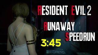 RUNAWAY DLC SPEEDRUN ► 3:45 ► RESIDENT EVIL 2 REMAKE