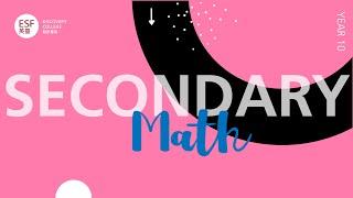 Year 10 Standard Math