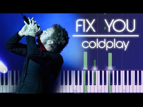 Coldplay - Fix You Piano Tutorial by Firefly Piano