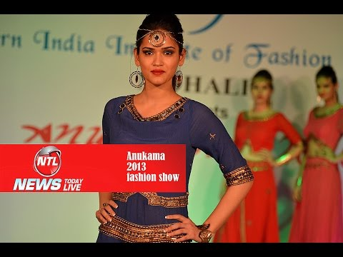 Anukama Fashion Show 2013 India Models