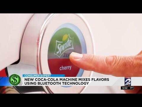Consumer Headlines: New Coke machine mixes flavors using bluetooth