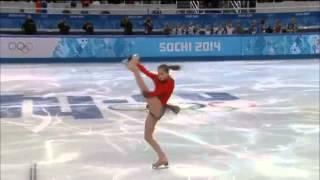 Юлия Липницкая, командные соревнования по фигурному катанию, ПП, командный зачет Олимпиада Сочи 2014