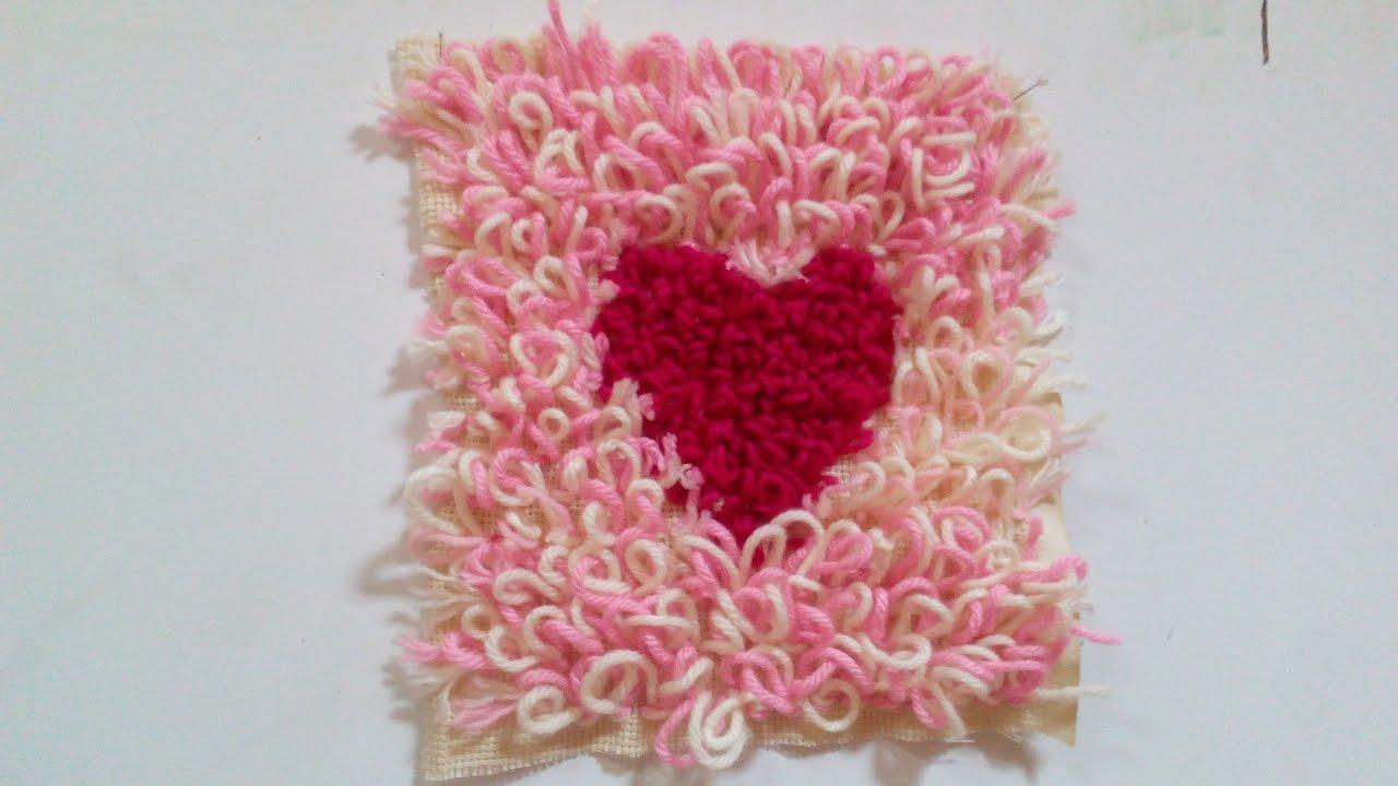 How to Make a Handmade and Easy Carpet - DIY Rya Rugs| Yarn ... for Diy Carpet Yarn  45gtk