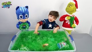 Gelli Baff Toys Surprise Fun with PJ Masks and The Grinch