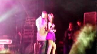 Don Omar & Natti Natasha @ La Cubierta Leganés 4/2/2012