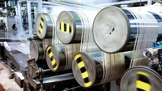 Polyester fiber production | Märkische Faser | SEW-EURODRIVE