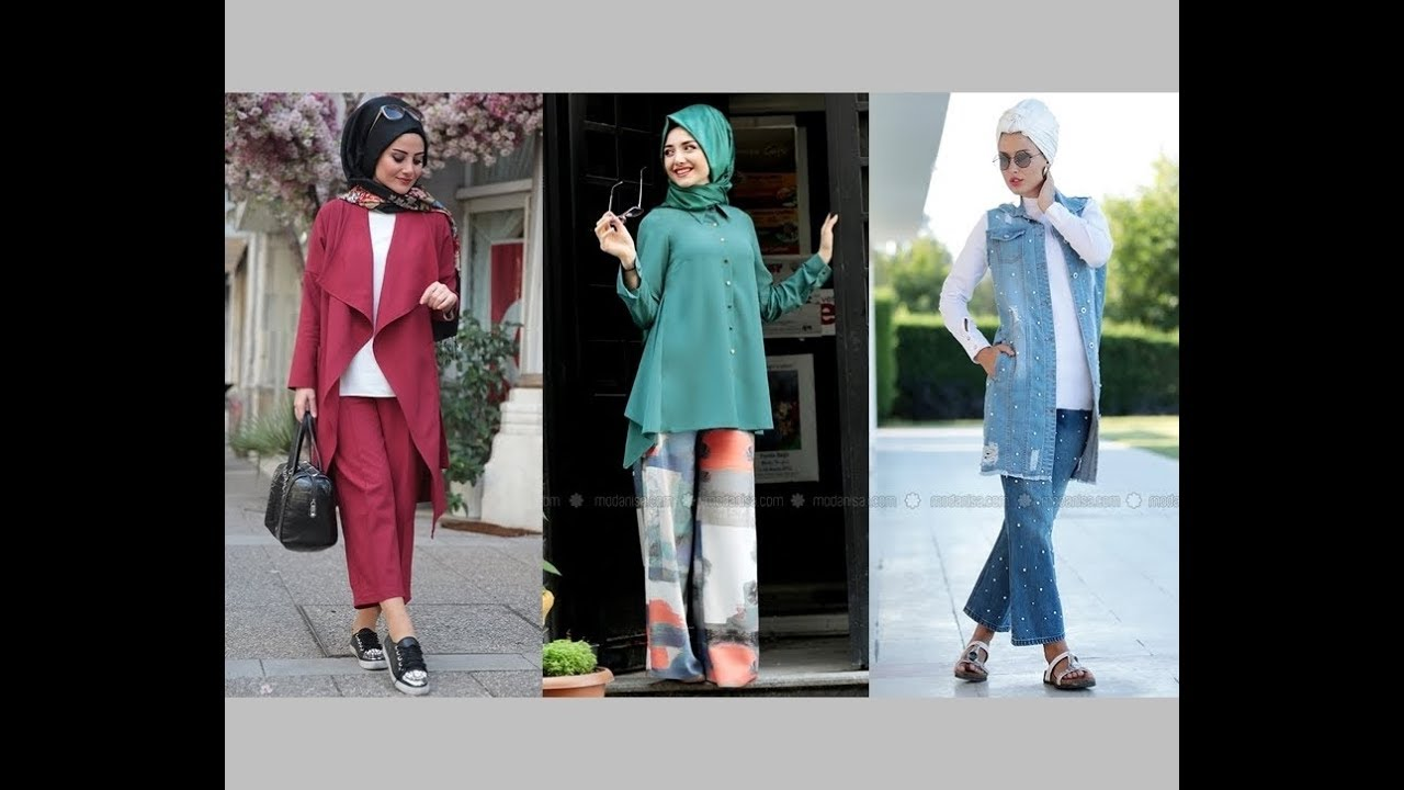e82e83755163e Tesettür Giyim 2018 Renk Trendleri - YouTube