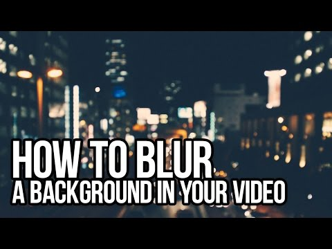 How to blur video background with VSDC Video Editor