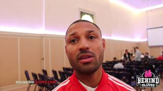 Kell Brook discusses Frankie Gavin and is interested in Keith Thurman fight