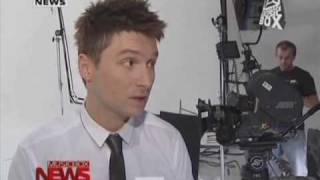 Сергей Лазарев о съемках клипа Аlаrm - MusicBoxNews 15.05.10