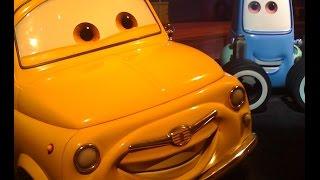 Тачки игра - Луиджи и Гвидо шиномонтаж (Cars Luigi & GuidoTire Rush)