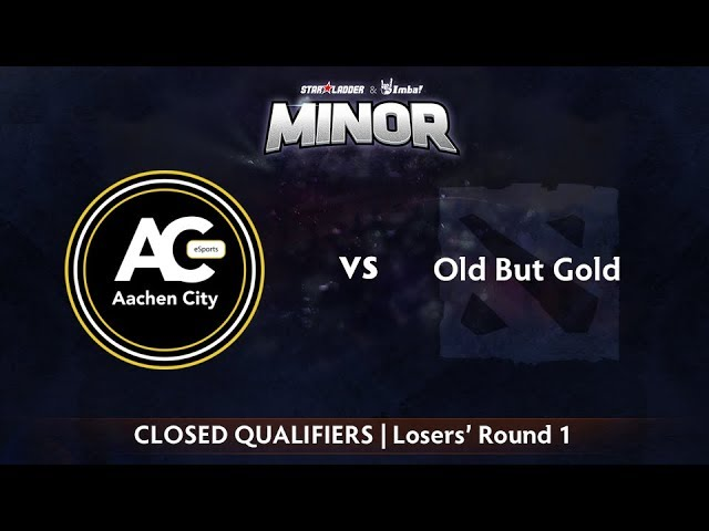 Aachen vs Old But Gold Game 2 - StarLadder ImbaTV CIS Qualifier: Losers' Round 1