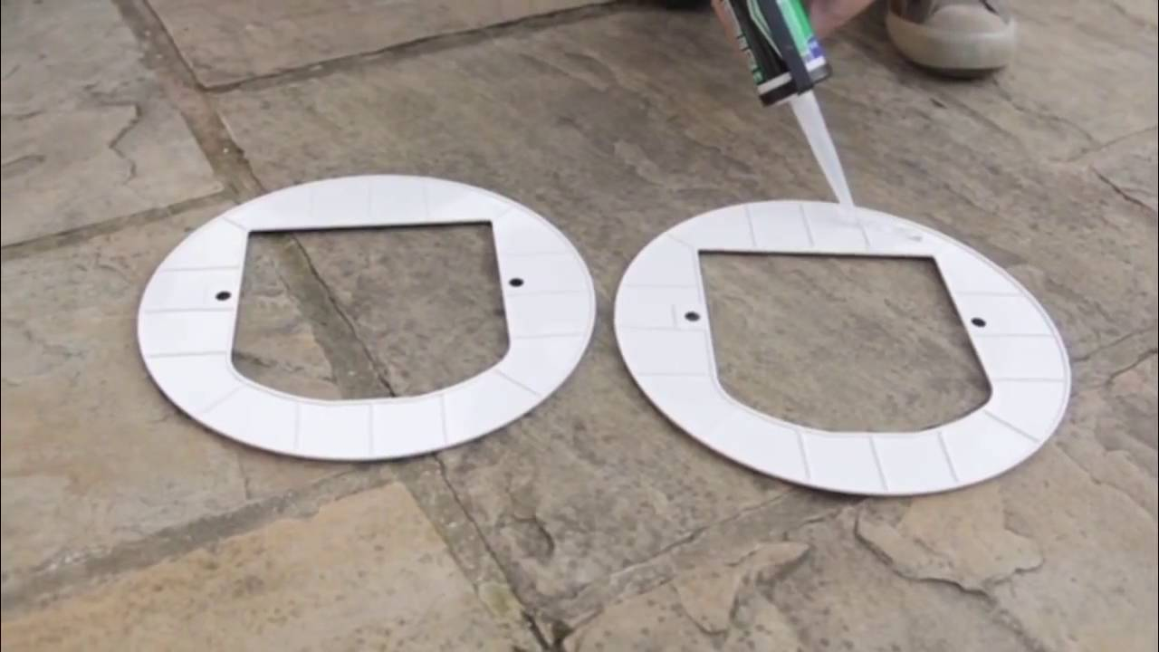 Installing a glass door installation with a sureflap microchip cat installing a glass door installation with a sureflap microchip cat flap planetlyrics Images