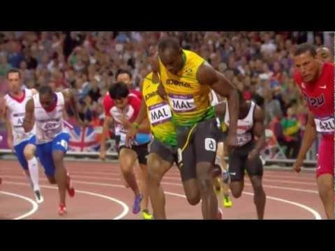 2012 Olympics - Mens 4 x 100m Relay Final