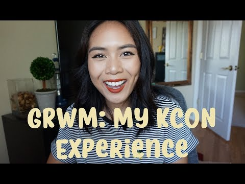 GRWM: My KCON Experience! [I'm sorry, Mike Bow]