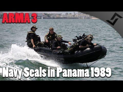 ARMA 3 - Navy SEALS in Panama 1989 - Capturing Noriega!
