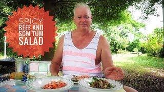 Spicy Beef and Green Papaya Salad