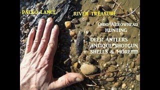 Ohio Arrowhead Hunting & Metal Detecting River Treasure