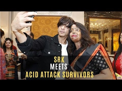 Shah Rukh Khan Meets Acid Attack Survivors And Interacts With Them At An Event | SpotboyE Mp3