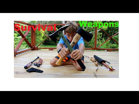 Survival Weapons Kid Prepper