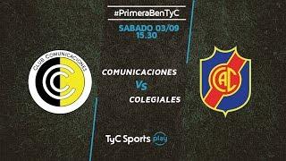 CSD Comunicaciones vs Colegiales full match