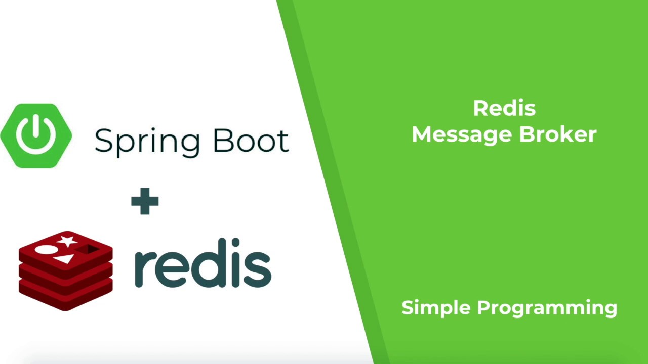 Spring Boot with Redis as Message Broker | Redis Series PART1 | Simple  Programming
