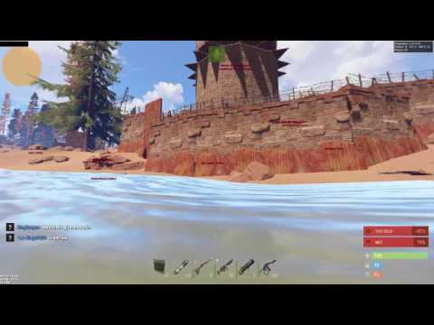 Rust hacks 2017 insane loot after flying into a base!