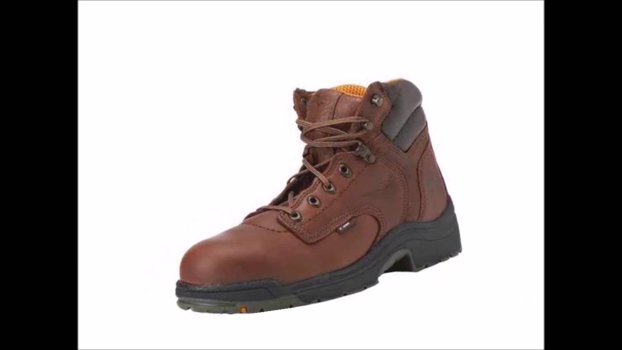 Best Ever Lightweight Work Boots for Men - YouTube