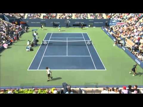 Murray vs Berdych Us Open 2012 semifinal highlights
