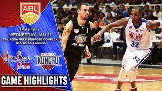 Tanduay Alab Pilipinas vs Chong Son Kung Fu | HIGHLIGHTS | 2017-2018 ASEAN Basketball League