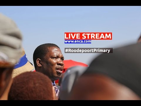 LIVE: Gauteng Education MEC addresses Roodepoort primary