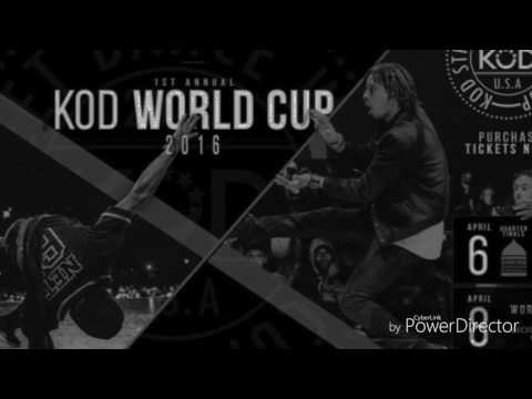 GUERILLA NASTY - Guerilla Black ( LES TWINS MUSIC ) Larry freestyle at KOD 2016 finals