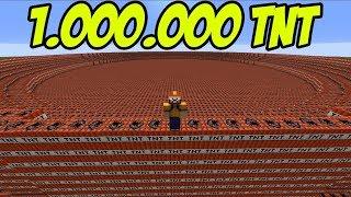 1.000.000 TNT PATLATTIM !!!   Minecraft